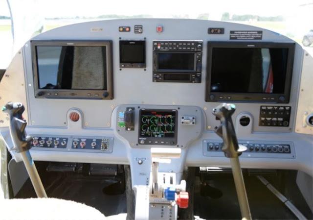 Privateer Amphibian Cockpit