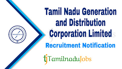 TANGEDCO recruitment notification 2020, govt jobs in tamilnadu, govt jobs for graduate,tn govt jobs