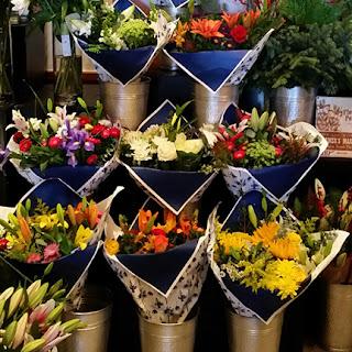 Blue Royale Valentine's Bouquets