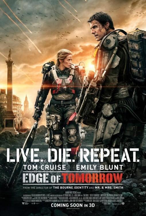 Download Edge of Tomorrow (2014) Full Movie in Hindi Dual Audio BluRay 1080p [3GB]