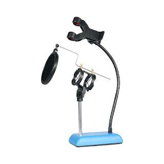 supporto cellulare microfono tavolo
