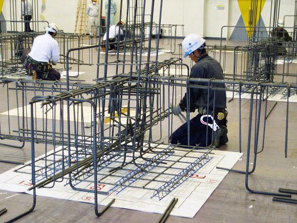 Tuyển 6 nam làm công việc thi công cốt thép tại Kanagawa tháng 9 năm 2019
