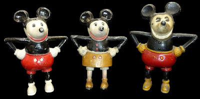 Mickey cast iron bank