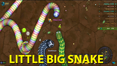 game cacing little big snake