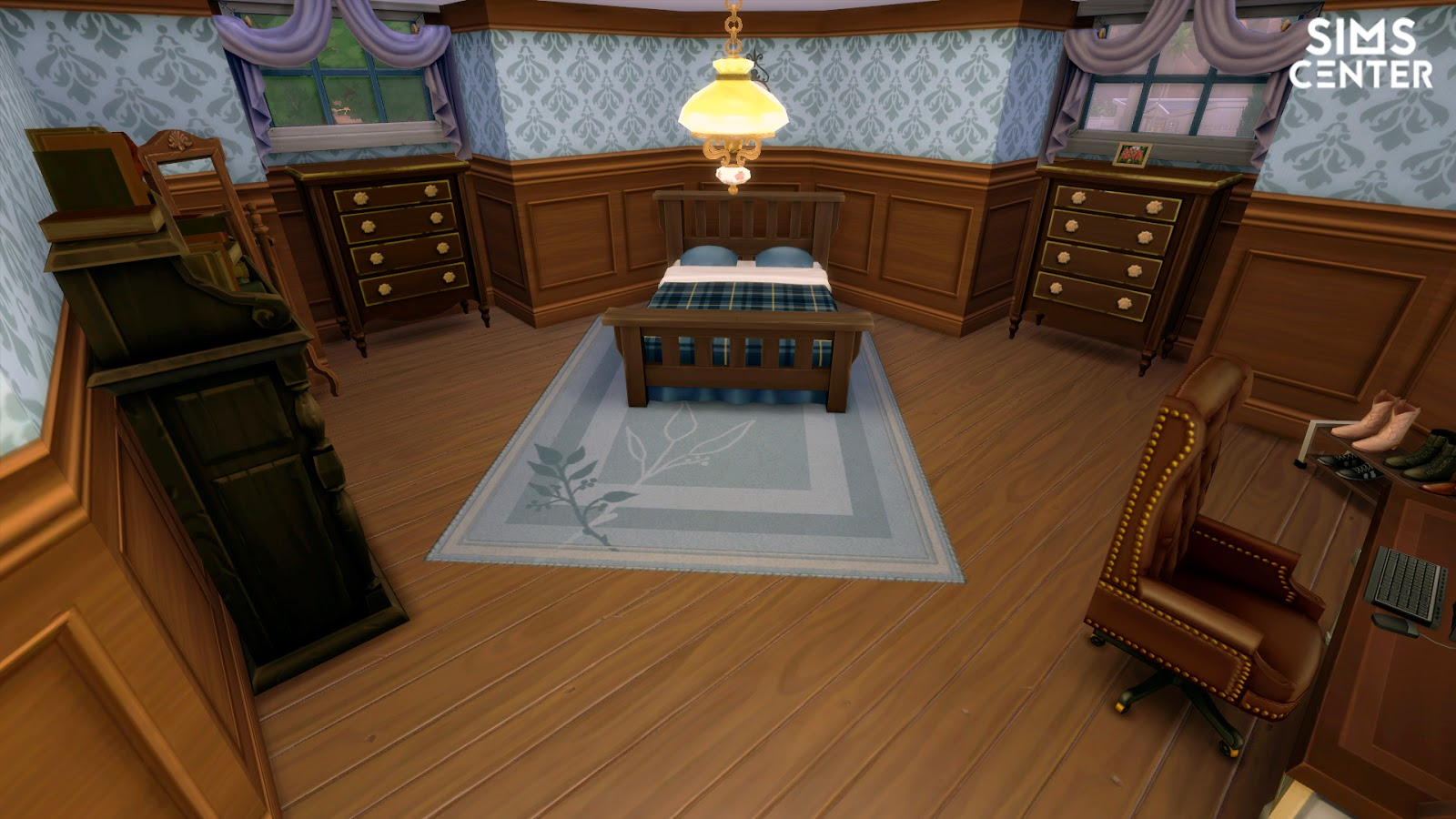 Le classic house sims center for Classic house sims 4