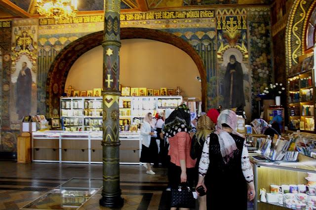 Церковная лавка Трапезного храма