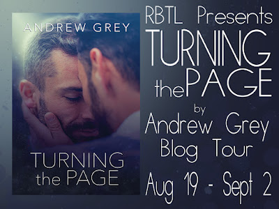 Blog Tour: Guestpost, Excerpt & Giveaway Andrew Grey - Turning the Page