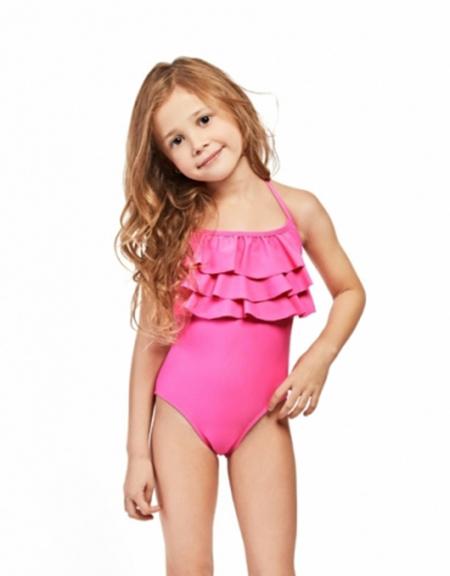 Mallas de moda para niñas verano 2018.