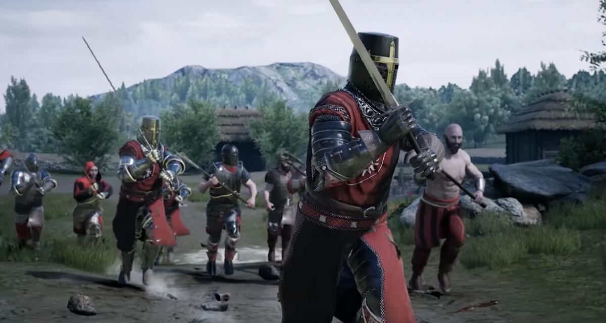 The most interesting mods for Mordhau