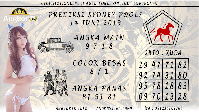 PREDIKSI SYDNEY POOLS 14 JUNI 2019