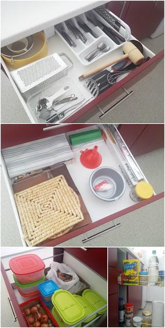 Organiziranje kuhinjskih ladica
