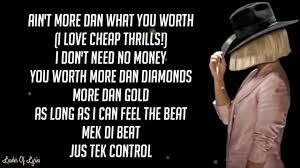 cheap thrills lyrics