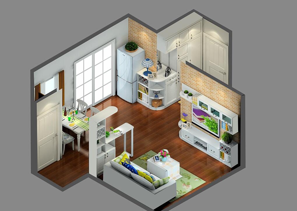 Korean-Style-Minimalist-home-11 35 Sky View 4D American House Plan Styles Interior