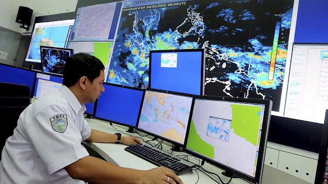 Badan Meteorologi Klimatologi dan Geofisika (BMKG) catat empat kali guncangan telah terjadi hari ini (ilustrasi)