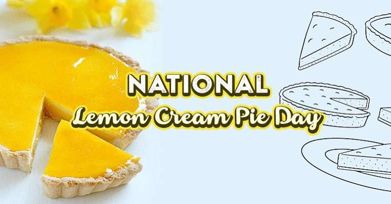 National Lemon Cream Pie Day Wishes Images download