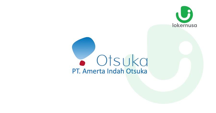 Lowongan kerja terbaru kali ini berasal dari PT Amerta Indah Otsuka.