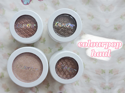 COLOURPOP Eyeshadow & Highlighter Review