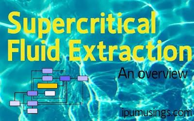 Supercritical Fluid Extraction (#appliedchemistry)(#biochemistry)(#ipumusings)