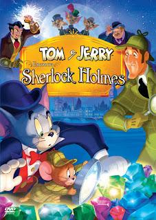 Tom si Jerry il intalnesc pe Sherlock Holmes dublat in romana