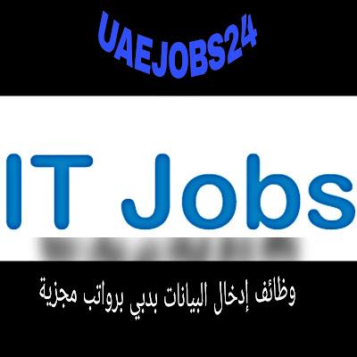 وظائف IT بالامارات بداخل دبي راتب يصل الي 7400درهم