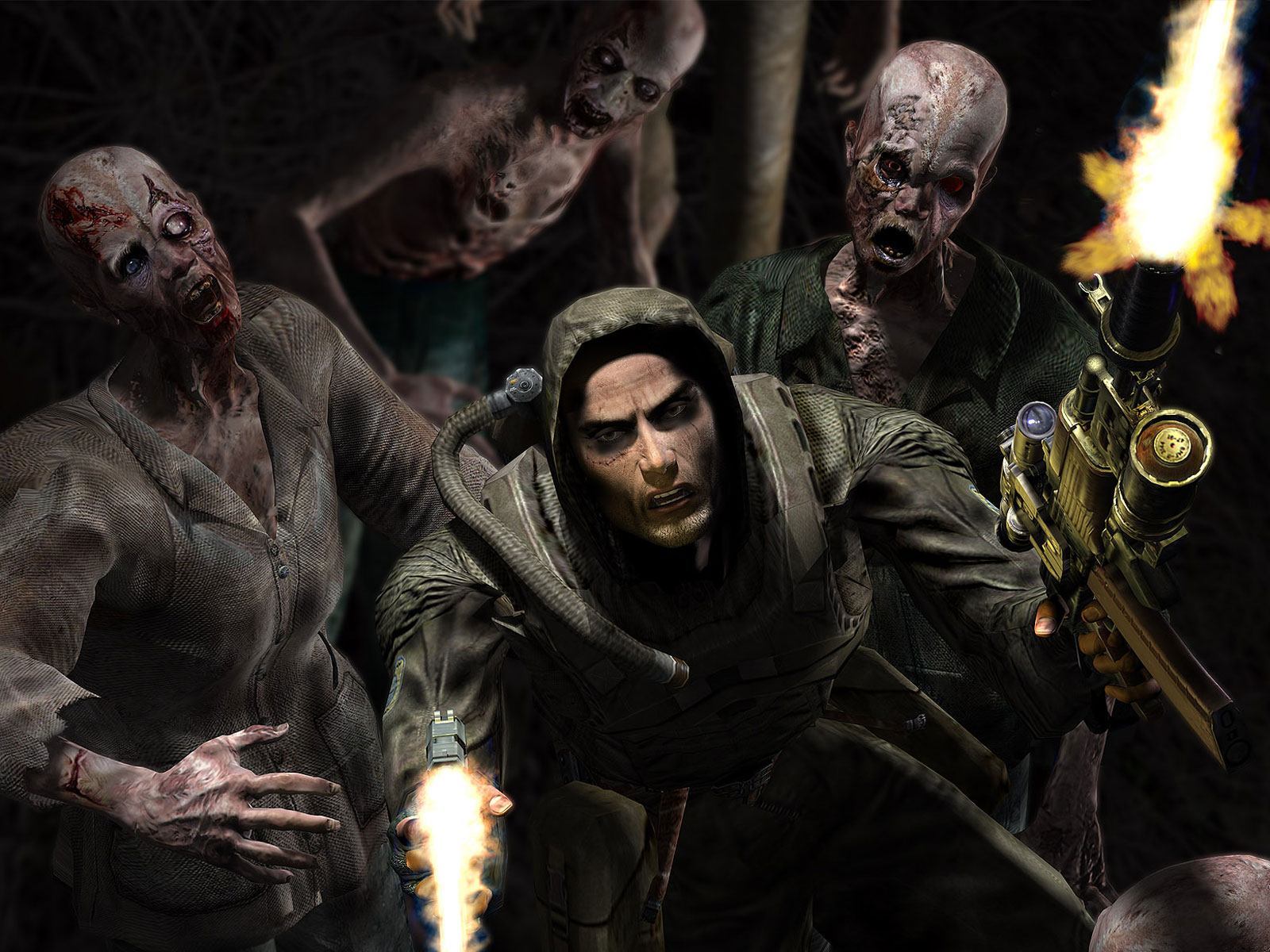 Scary Wallpaper - Zombie | Scary Wallpapers