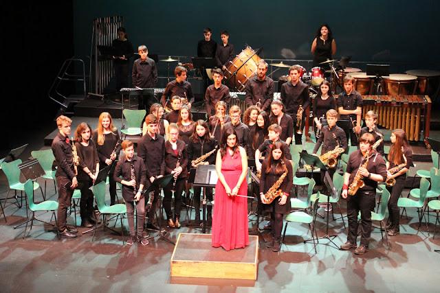 concierto de Navidad de los estudiantes del conservatorio de Barakaldo