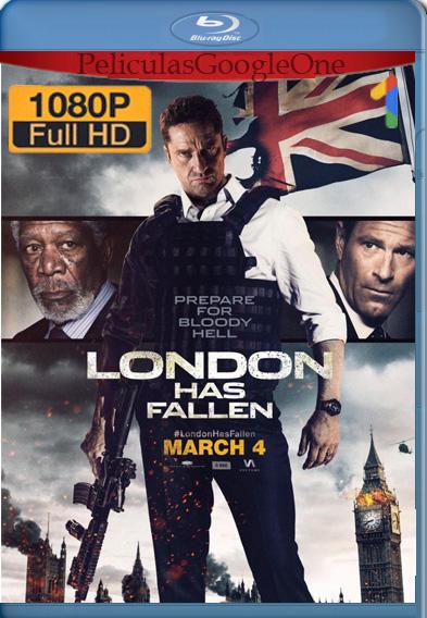 Londres bajo fuego 2016 Full HD 1080p Latino Luiyi21