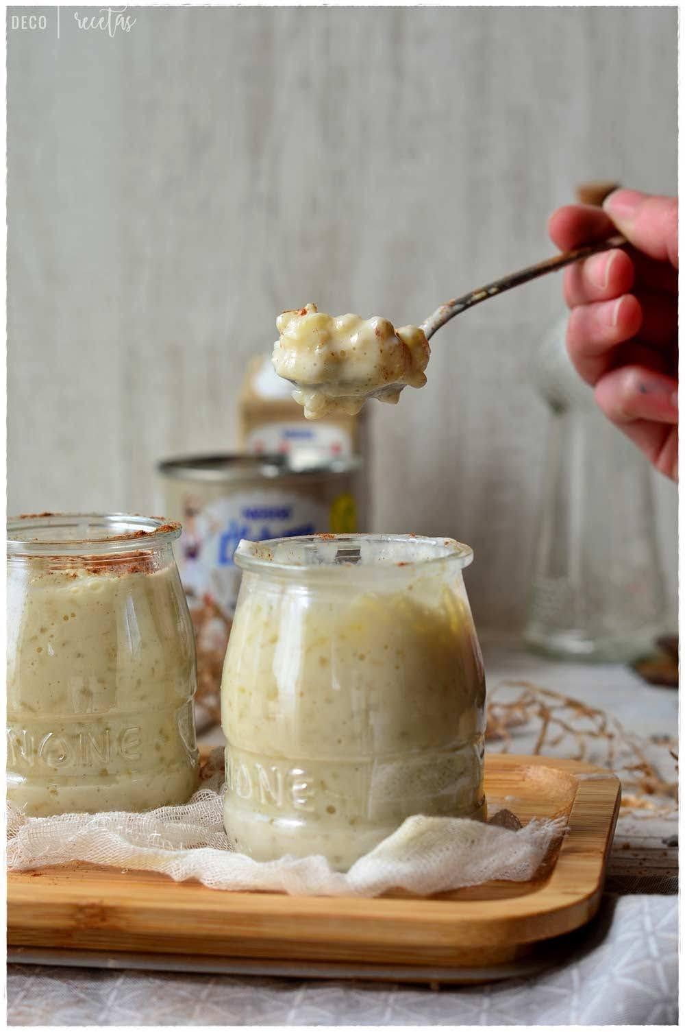 Arroz con leche cremoso