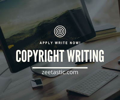 Copyright Writing