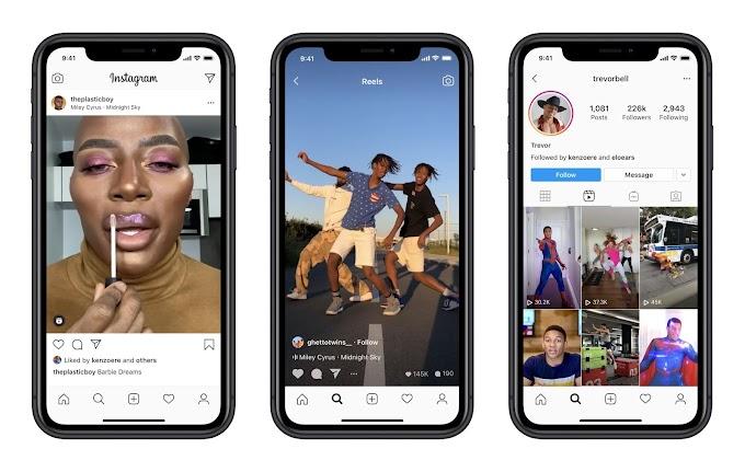Facebook Launches Instagram Reels (TikTok Copycat)