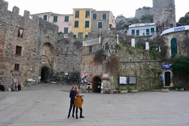 Porte d'entrée fortifiée de la ville. Porto Venere