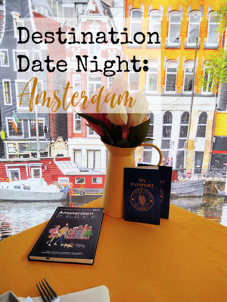"""We decided to """"travel"""" to Amsterdam on our Destination Date Night in order to celebrate King's Day, the day when the Dutch throw a party for the king."""