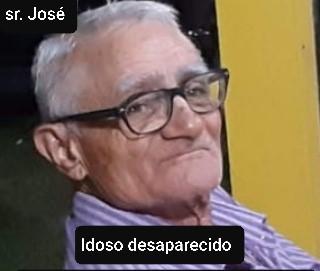 Polícia Civil divulga imagens de idoso desaparecido desde setembro de 2020 no RN