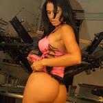 Andrea Rincon, Selena Spice Galeria 38 : Baby Doll Rosado, Tanga Rosada, Total Rosada Foto 45