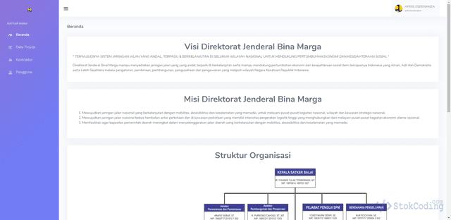 Aplikasi E-Monitoring Proyek Berbasis Web (Codeigniter)
