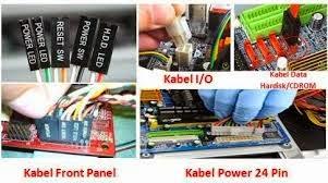 cara memasang kabel komputer