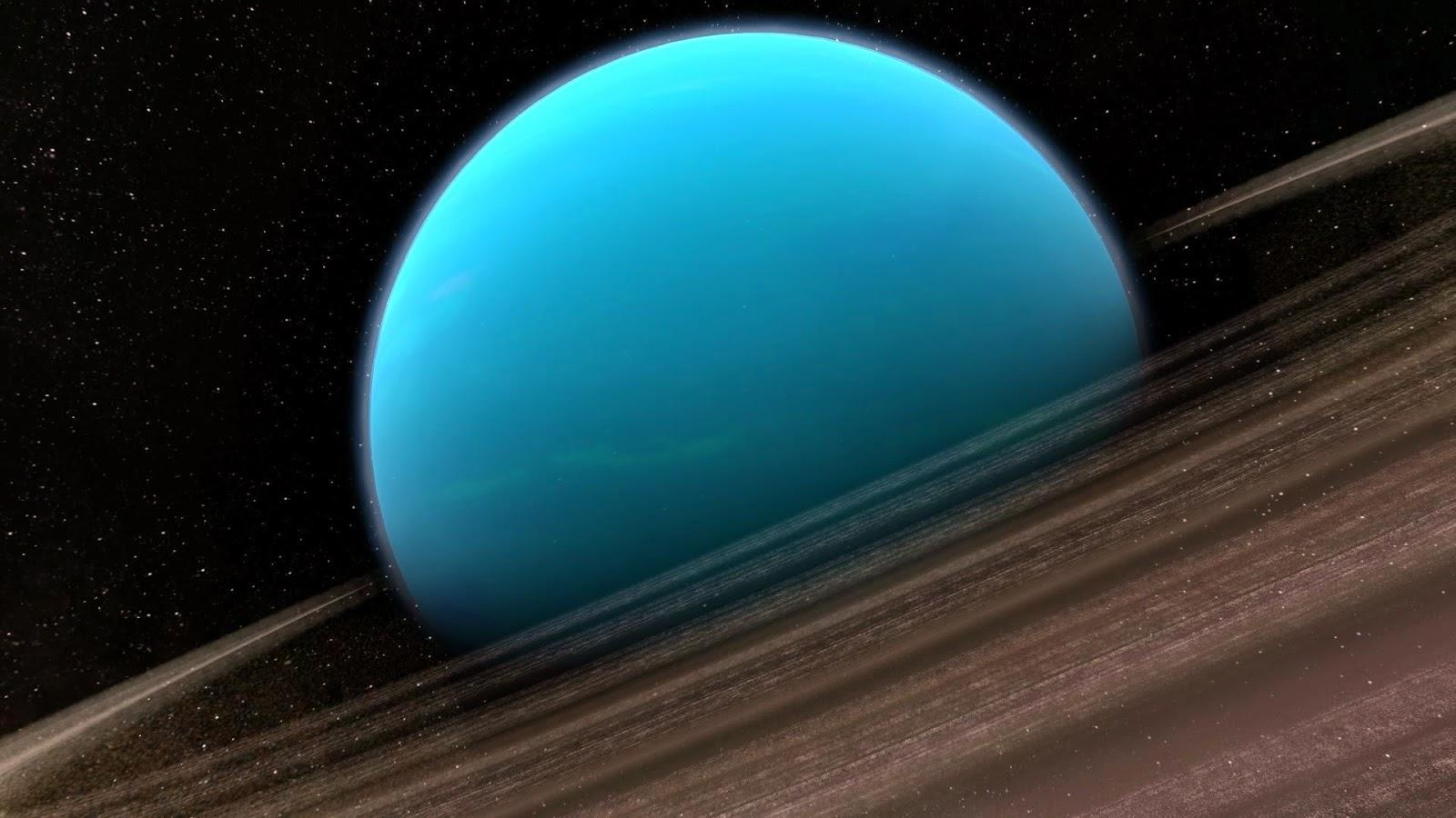gambar planet uranus