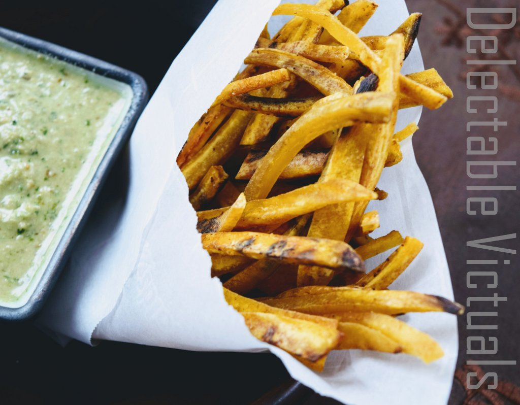 Green Plantain Oven Fries