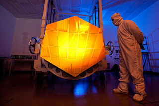 James Webb Space Telescope Mirror Coated in Gold to Reflect Infrared Light