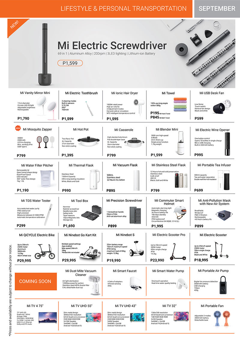 Xiaomi Product Catalog Page 7
