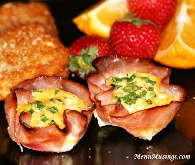 Ham Cups @menumusings.com