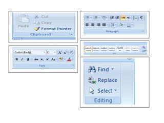 Mengenal fungsi-fungsi Icon pada Ribbon Home Microsoft Word 2010