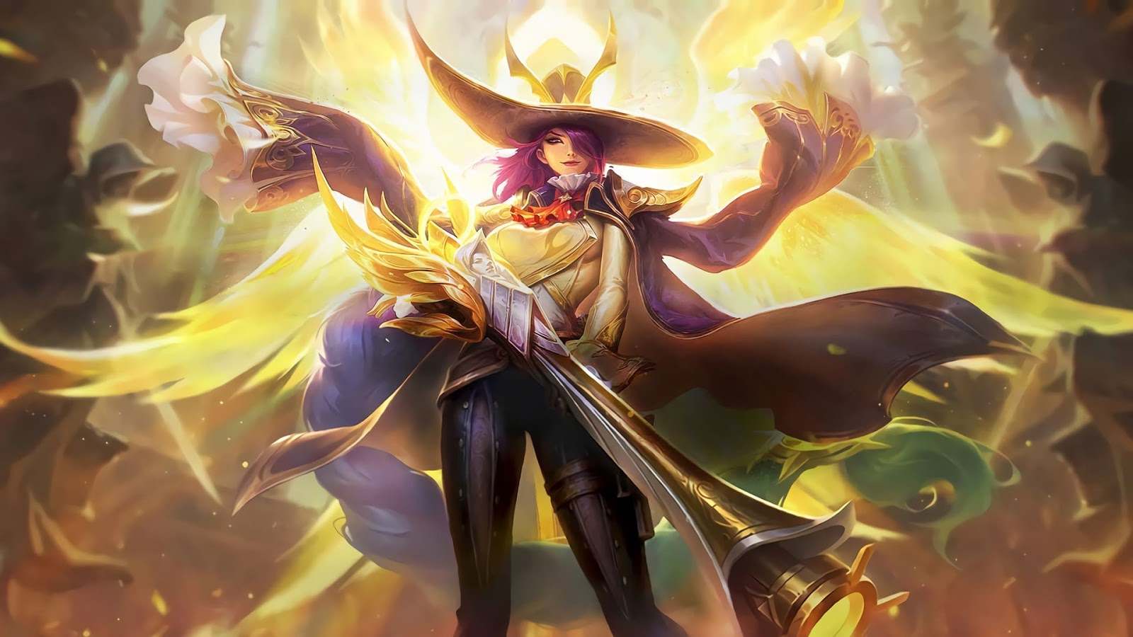 Wallpaper Lesley Angelic Agent Skin Mobile Legends HD for PC