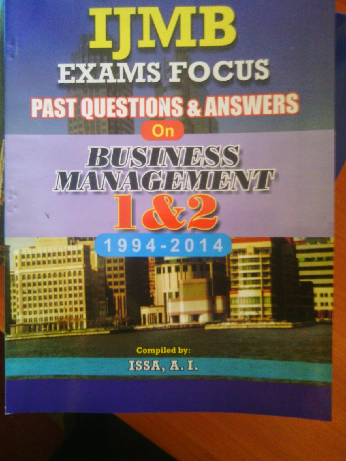 IJMB Textbook and exam papers