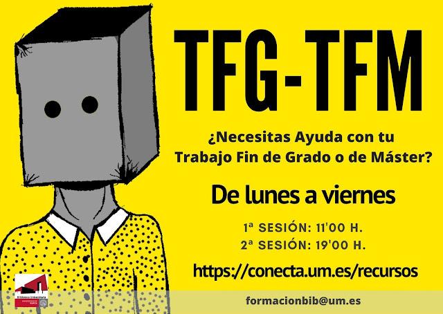 ¿Necesitas ayuda con tu TFG o TFM?
