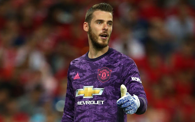 EPL: Man Utd identify two goalkeepers as De Gea's possible replacement at Old Trafford