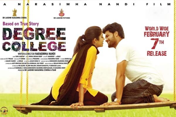 Degree College Movie Review In Movierulz