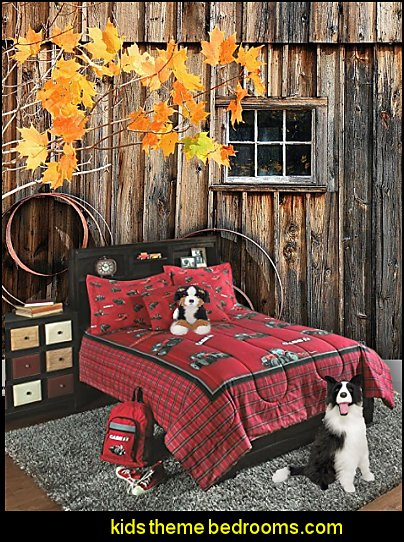 Decorating theme bedrooms maries manor farm theme for International harvester room decor