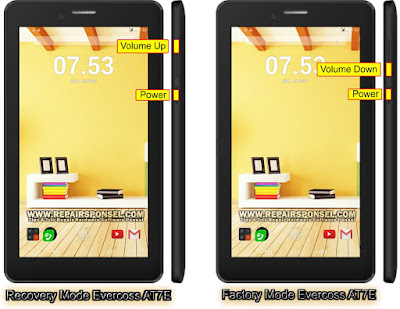 Hard Reset Tablet Evercoss AT7E