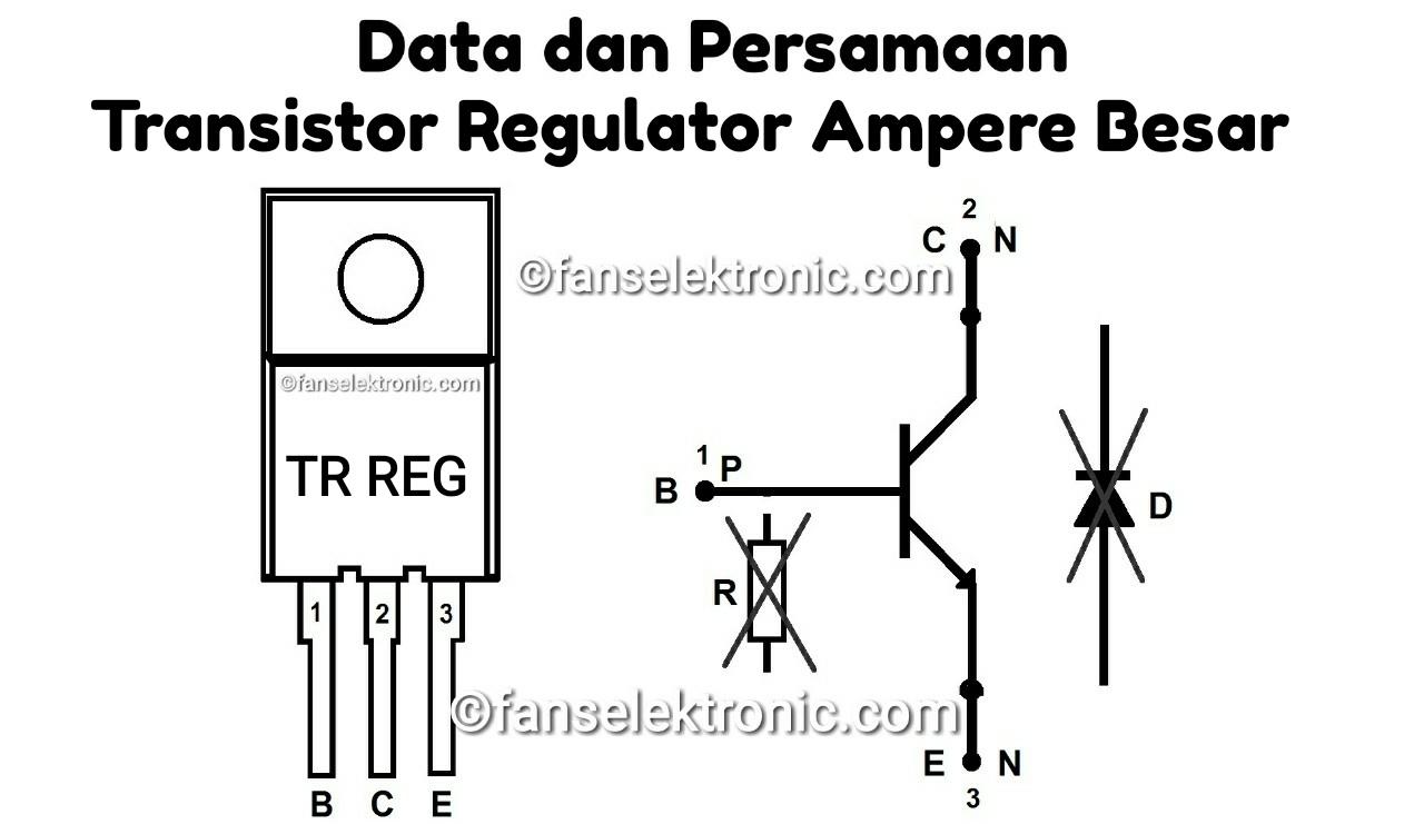 Kumpulan Transistor Regulator Ampere Besar
